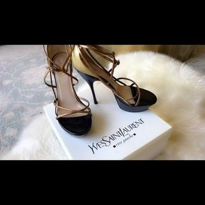 Yves Saint Laurent Platform Sandals